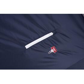 Grüezi-Bag Biopod Wool Murmeltier Comfort Sleeping Bag XXL, currant, night blue